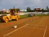 Somerset Cricket Club pitch preparation