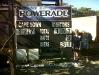 Cape Town scoreboard