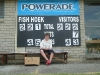 Fish Hoek scoreboard